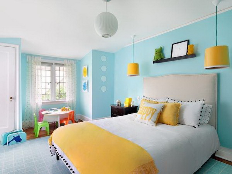 How to Choose Paint Colors for Kid's Bedrooms