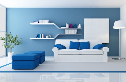 Light Blue Rooms how paint color affects mood