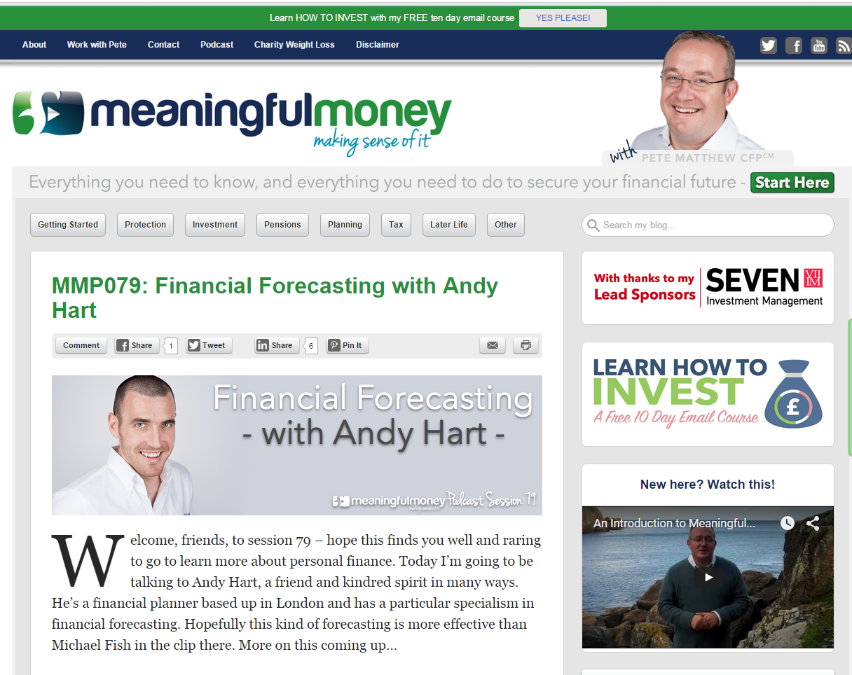 mmp079 financial forecasting with andy hart