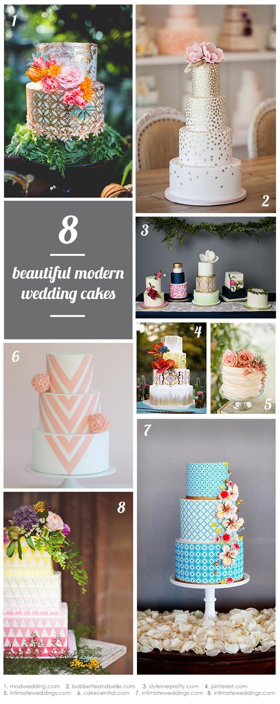 8-beautiful-modern-wedding-cakes