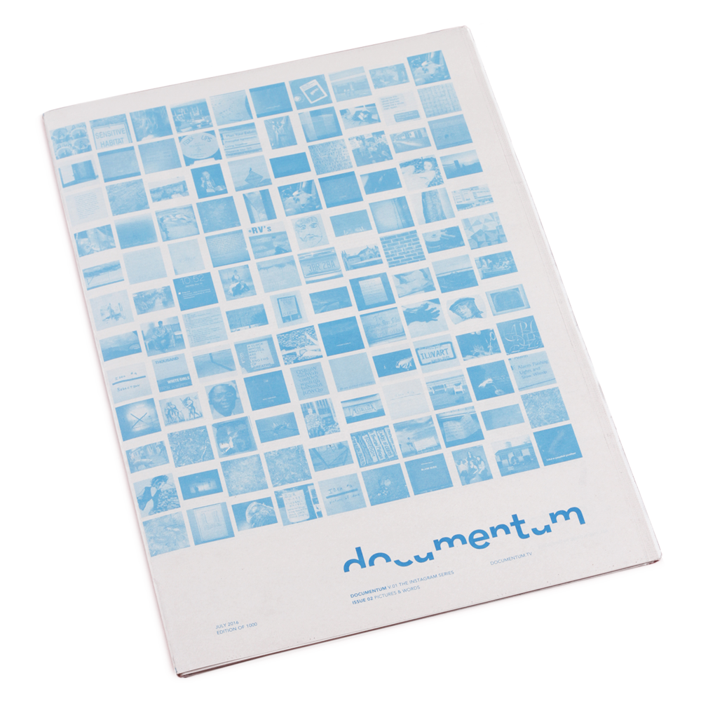 Documentum   Volume 1 Issue 2 $25.00