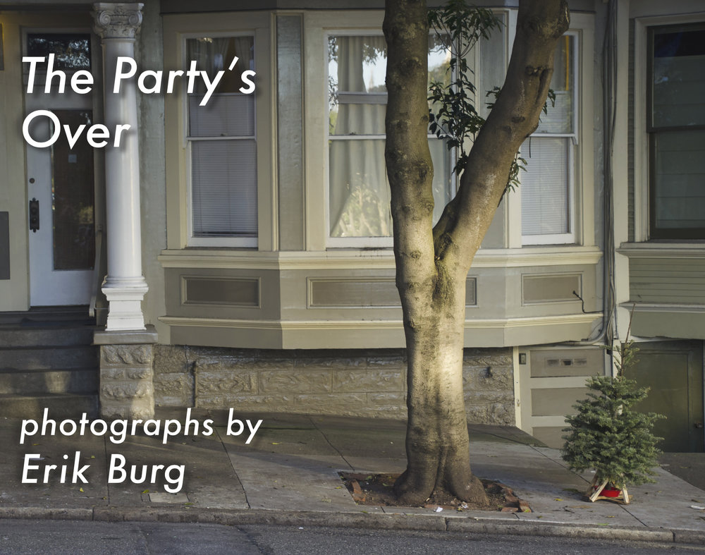 The Party's Over Erik Burg $38.00