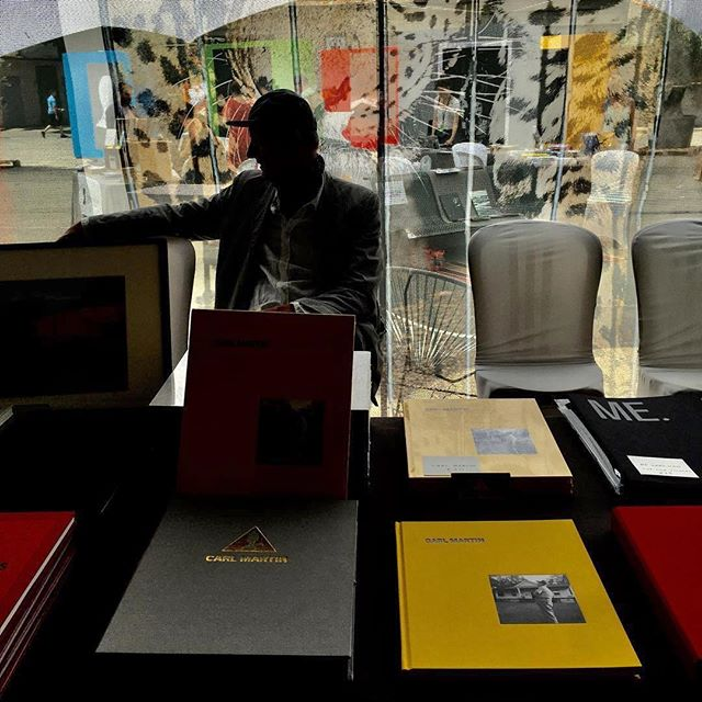Repost from @caroljohnpic - Here is @carl_martin_ at the #CosmosBookFair #rencontresdarles2018 - wish I could be there with Carl & the team. Thanks to everyone who helped make #CarlMartinBook a reality. #Arles #photobooks #photobookjousting #Repost @caroljohnpic ・・・ Carl Martin with the first books! in Arles, France at Cosmos Arles Books #arles #carlmartinphoto #falllinepress
