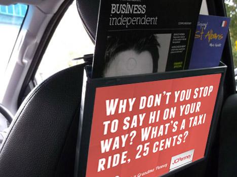 Taxi Cab Ad