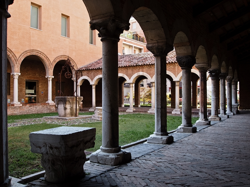 The Cloister of St. Anne