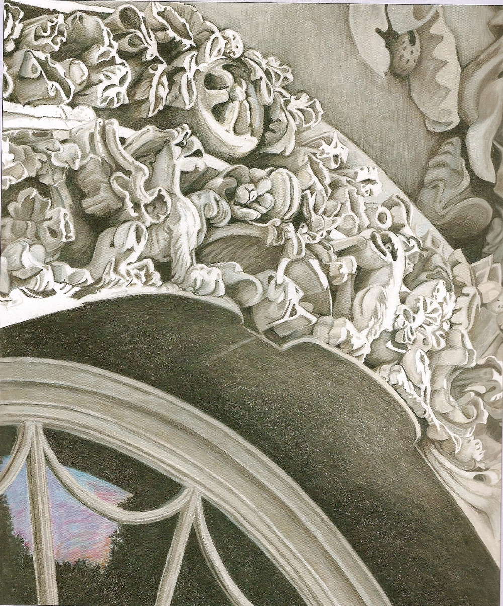 Illustration of arch over the front door at the White House done by Mary Brigid Barrett in colored pencils.        Normal   0           false   false   false     EN-US   X-NONE   X-NONE                                                                                ©                                                                                                                                                                                                                                                                                                 2008 Mary Brigid Barrett; Candlewick Press Publishing