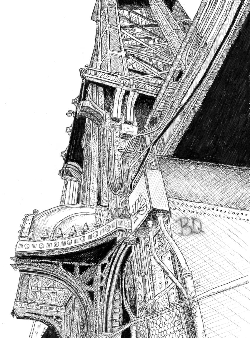Manhattan Bridge Angle