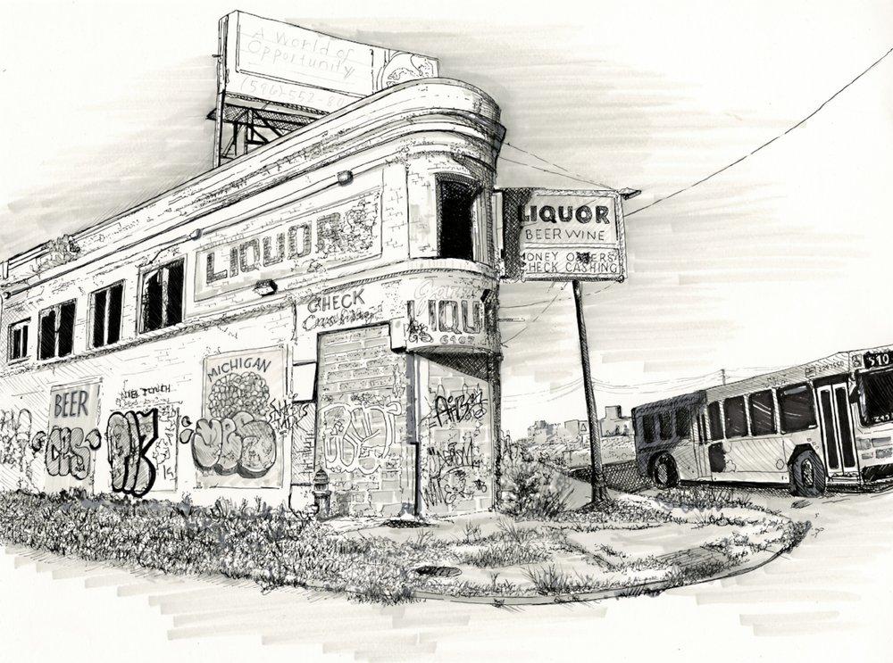 Detroit Liquor Store