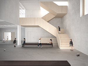 Elementary School Sorens, Switzerland Competition: 2014, Awarded Project Gross Internal Area: 1900 m2 More