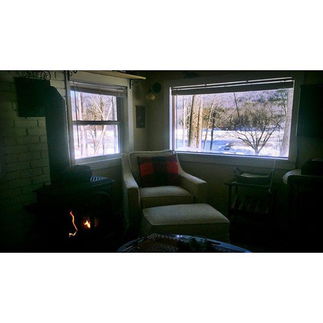 Spent the weekend in the coziest corner