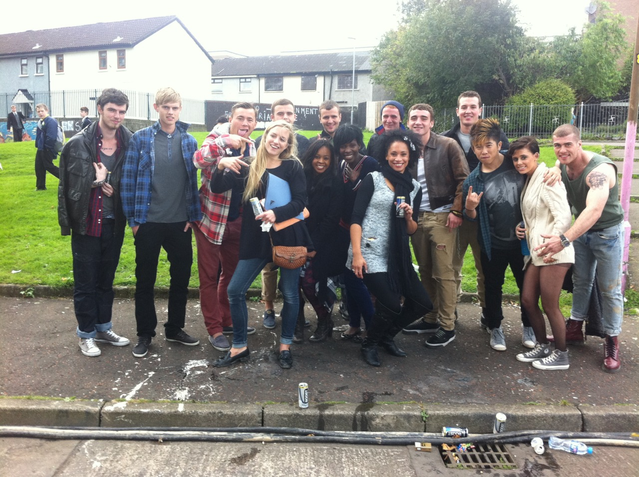 Rihanna. We found Love . Belfast. Extras.   Production Assistant