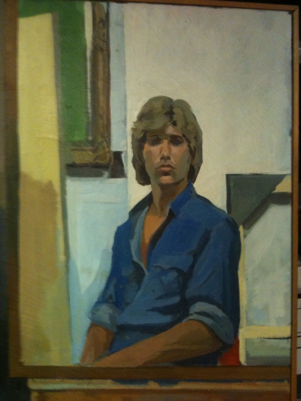Self portrait at 18
