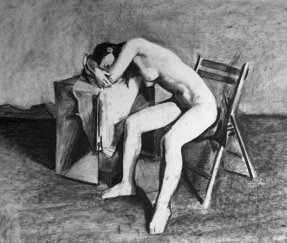 Slumped Nude