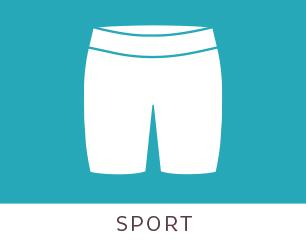 Sport Silhouette - Fitted through through hips and thighs with a 6