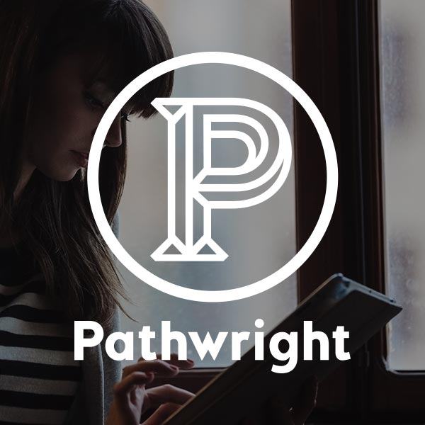 Branding for  Pathwright , a platform for online learning. (Work done as Art Director at Pathwright)