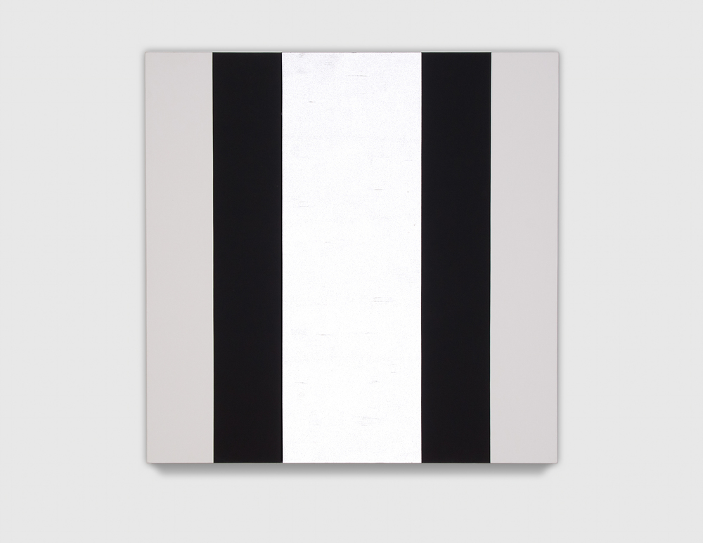 Mary Corse_black and white bands_2006_3'x3'_sh19ln7 Bevjpg.jpg