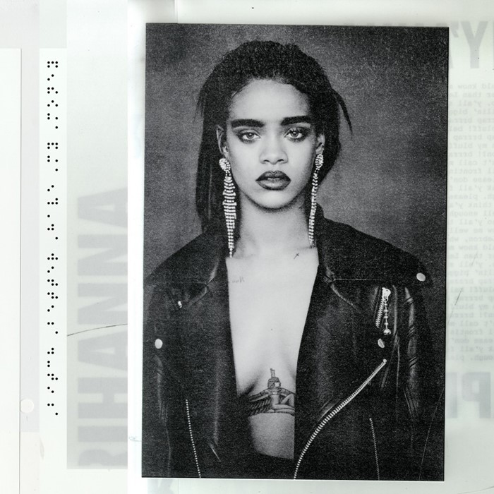 1. Rihanna – Bitch Better Have My Money - Back in 2015, at Skowhegan, Troy Michie and I shared a studio wall that didn't go all the way to the ceiling. So everyone had to listen to the playlist we created, song-for-song—and to us dancing and yelling to each other over the wall. This was on there right at the top, and still is.