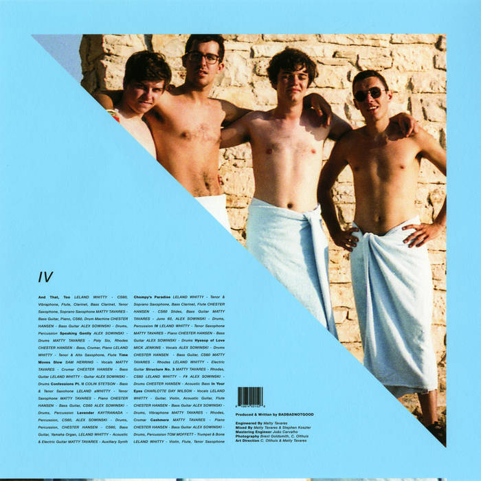 9. BADBADNOTGOOD ft. Sam Herring – Time Moves Slow  - I didn't name 'em, but I like 'em!