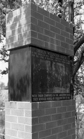 The Oberlin-Wellington Rescure monument in King Park