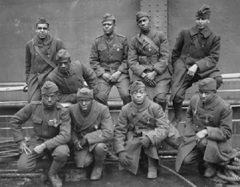 Harlem Hell Fighters in France, 1919
