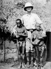 Pygmies were collected fordisplay in human zoos by the British