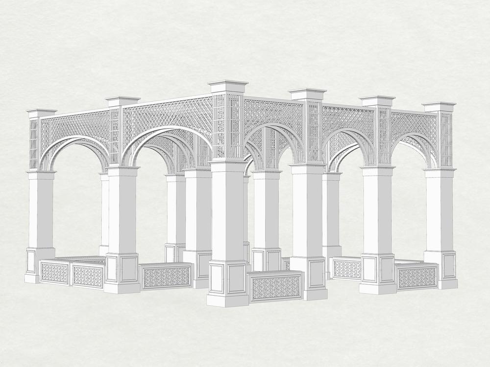 Initial 3D sketch