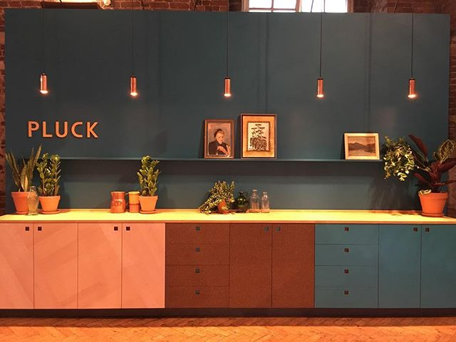 We're @clerkenwelldesignweek with @pluckldn so come and say hello if you're visiting #Britishcollection #cdw2017 #pluck #kitchendesign #kitchen #interiors #madeinlondon