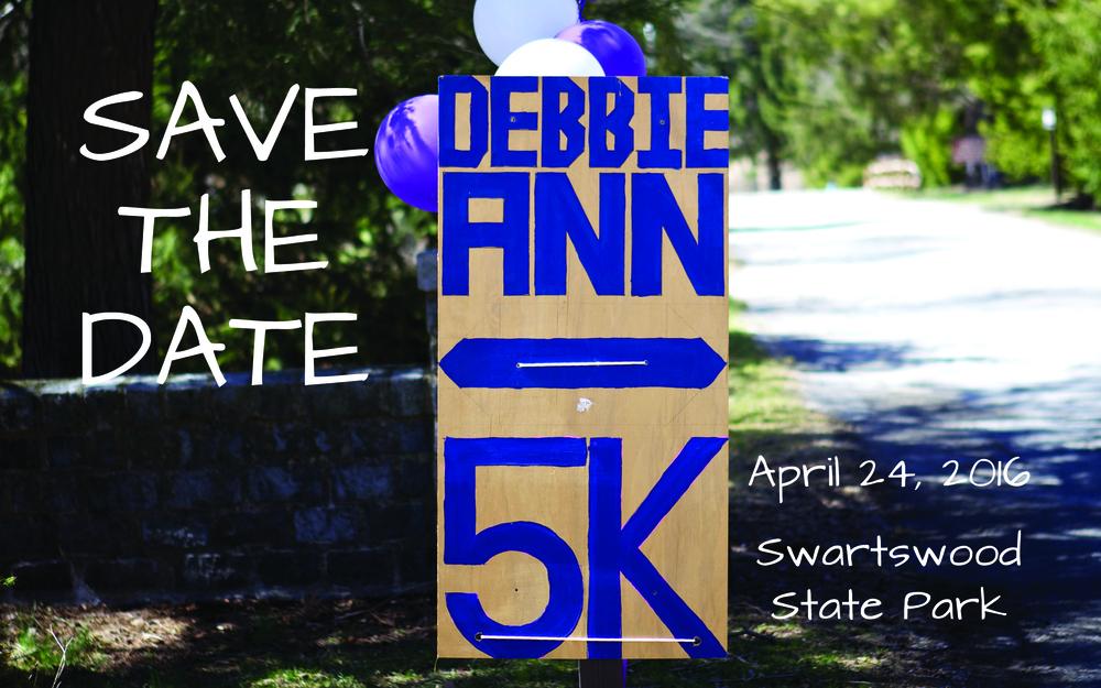 2015 Debbie Ann 5k Race Start