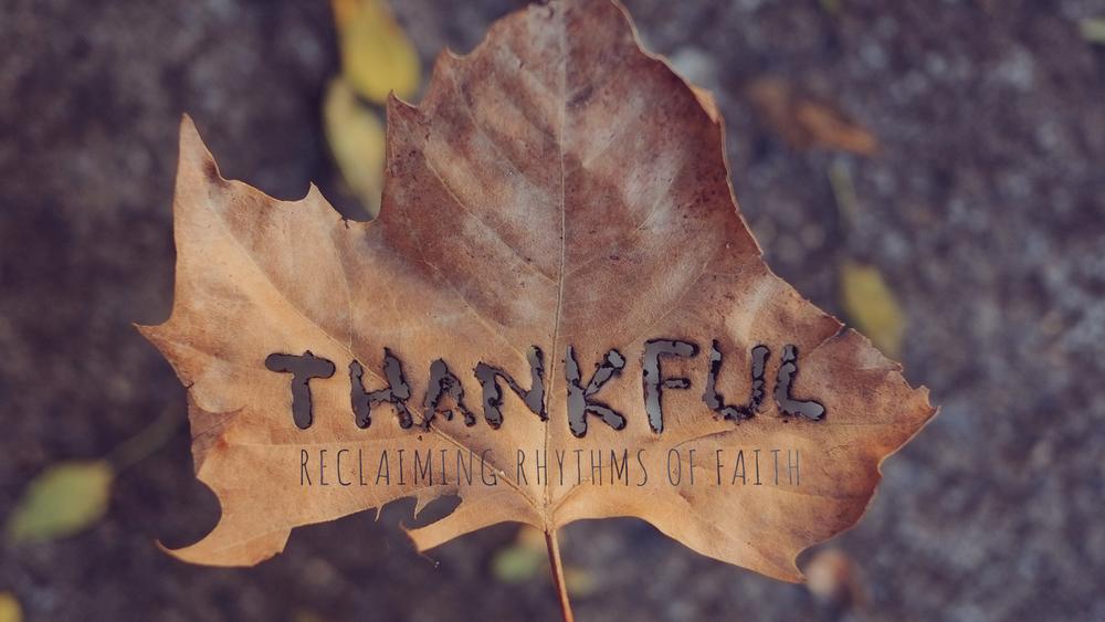 THANKFUL 11/02/14 - 11/23/14
