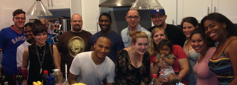 The Bed-Stuy small group! Glad to call these people family!