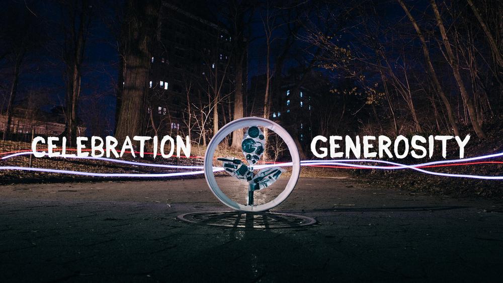 CELEBRATION GENEROSITY 2015 4/12/15- 5/03/15