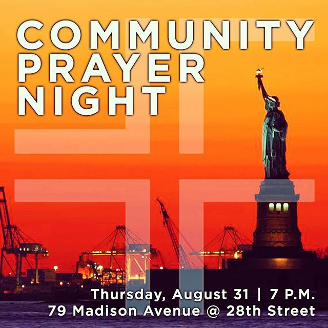 #ForefrontFamily ... you're invited to join us this Thursday night 8/31 at 7 p.m. for a special Community #Prayer Night at the WeWork Offices @ 79 Madison Ave. ✨🙏🏾🙏🏽🙏🏿🙏🏻🙏✨ #AllAreWelcome