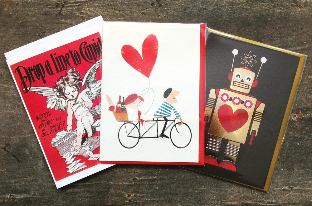 Vintage and retro cards are trending. Love is timeless <3