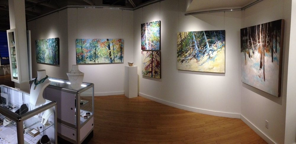 Installation shot of Sheila Davis