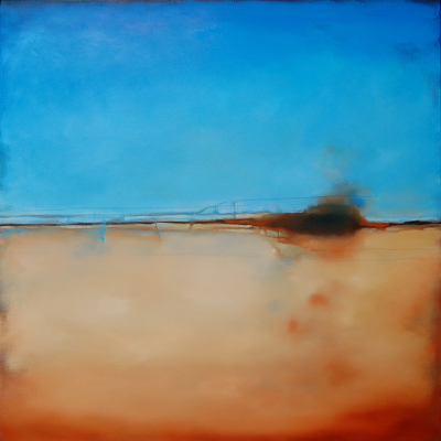 Randy Hryhorczuk, Landscape Disturbance IV, oil on canvas