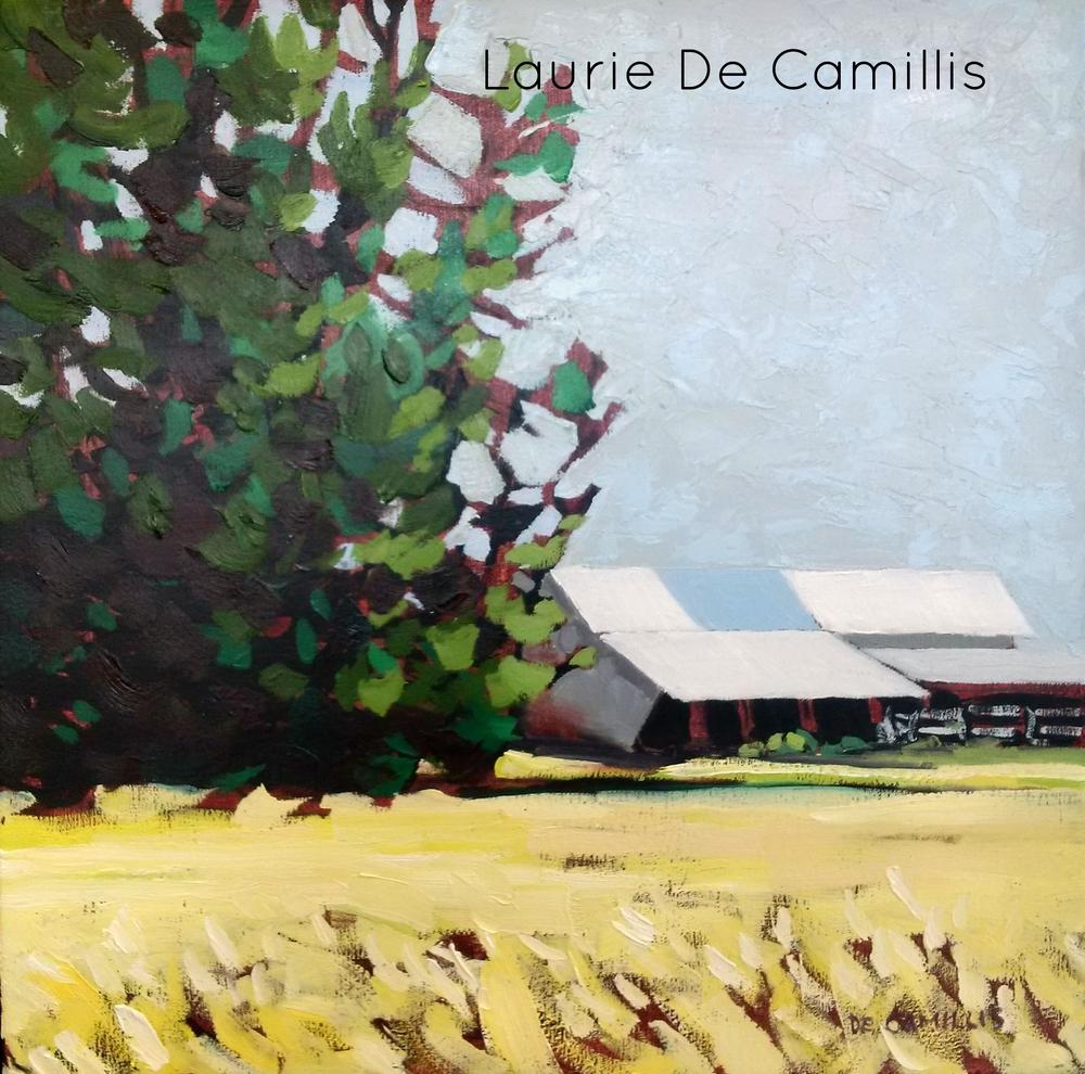 """Laurie De Camillis, Shelter, 12"""" X 12"""""""
