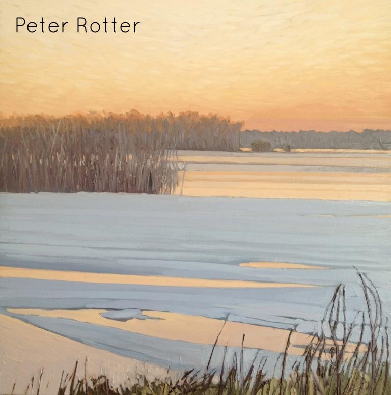 "Peter Rotter, Ottawa River, 24"" x 24"""