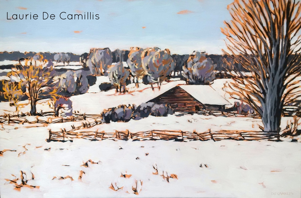 """Laurie De Camillis, Hillside, 24"""" x 36"""""""