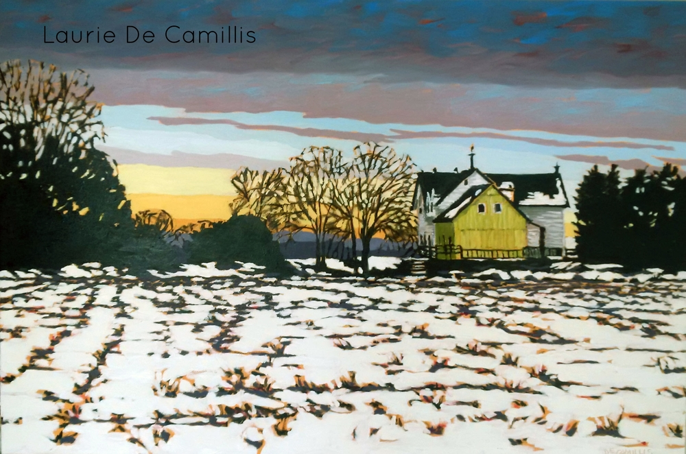 """Laurie De Camillis, Meersbrook, 24"""" x 36"""""""