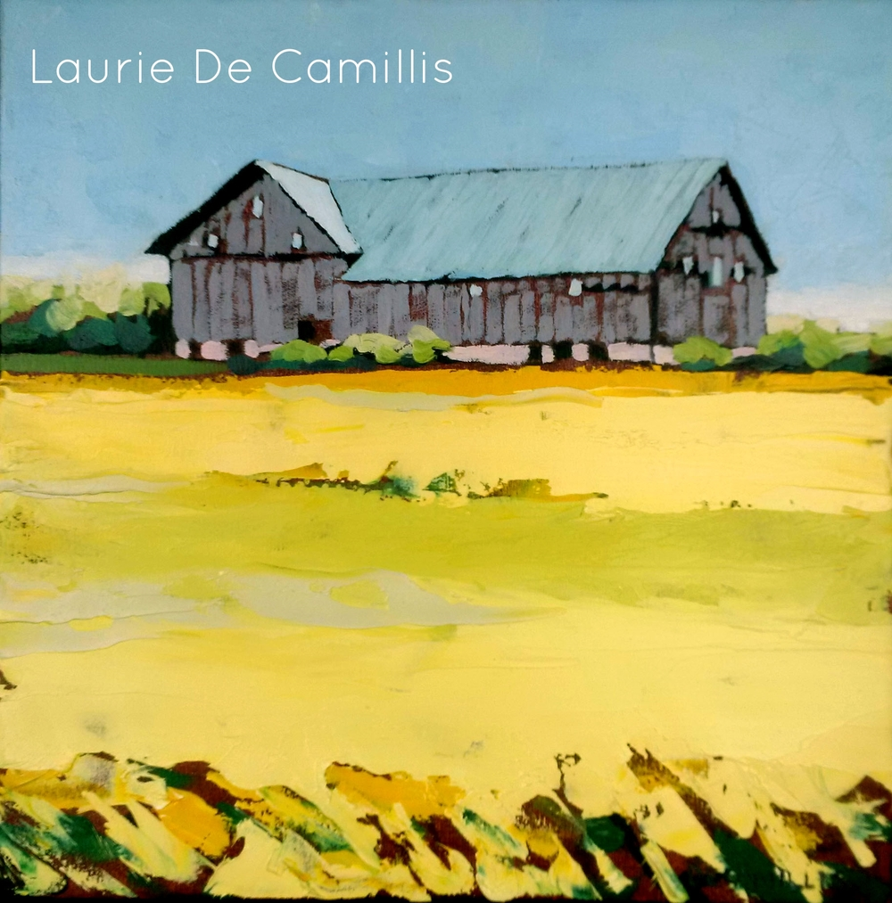 "Laurie De Camillis, Summer Grass, 12"" x 12"""
