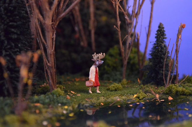 Patti Normand,  Deer Lady
