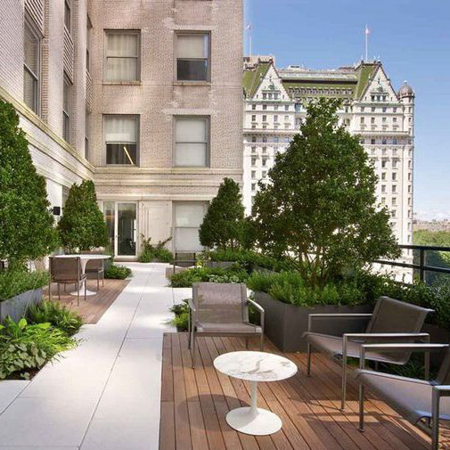 IRVING PLACE CAPITAL OFFICE: NYC, TERRACE DESIGN