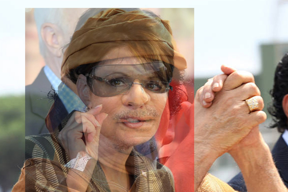 Mergers and Acquisitions #29 SARAHPALIN&GADDAFI_18x12.jpg