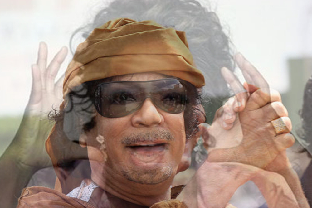 Mergers and Acquisitions #33 GADDAFI&OPRAH_18x12.jpg