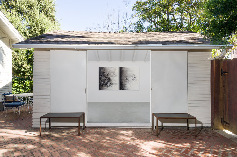"Installation view of ""rank"" exhibition, team (bungalow)."