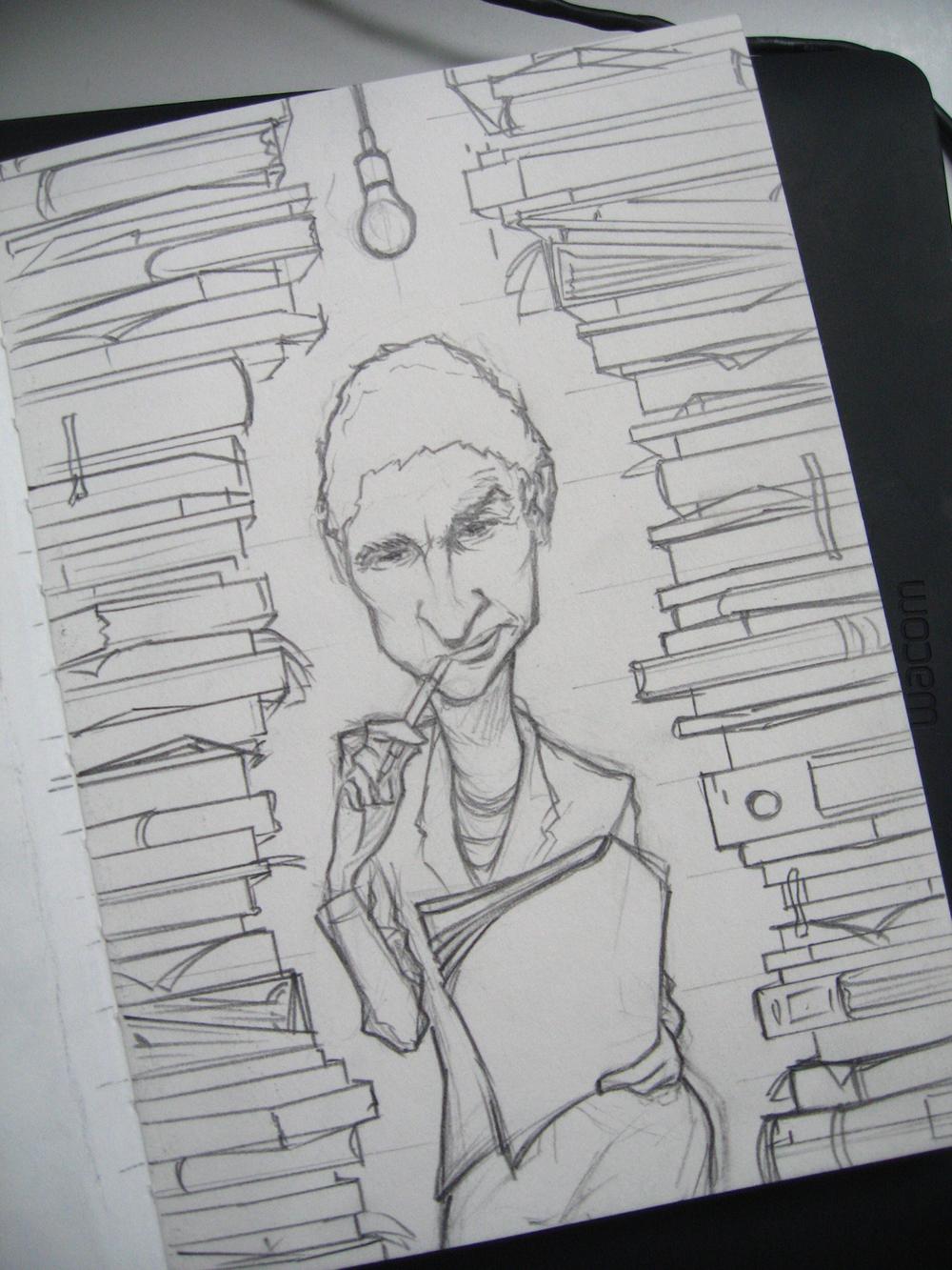 141027_Trouw_Wilma_Mansveld_Karikatuur_Schets_Lennart_Gaebel.jpg