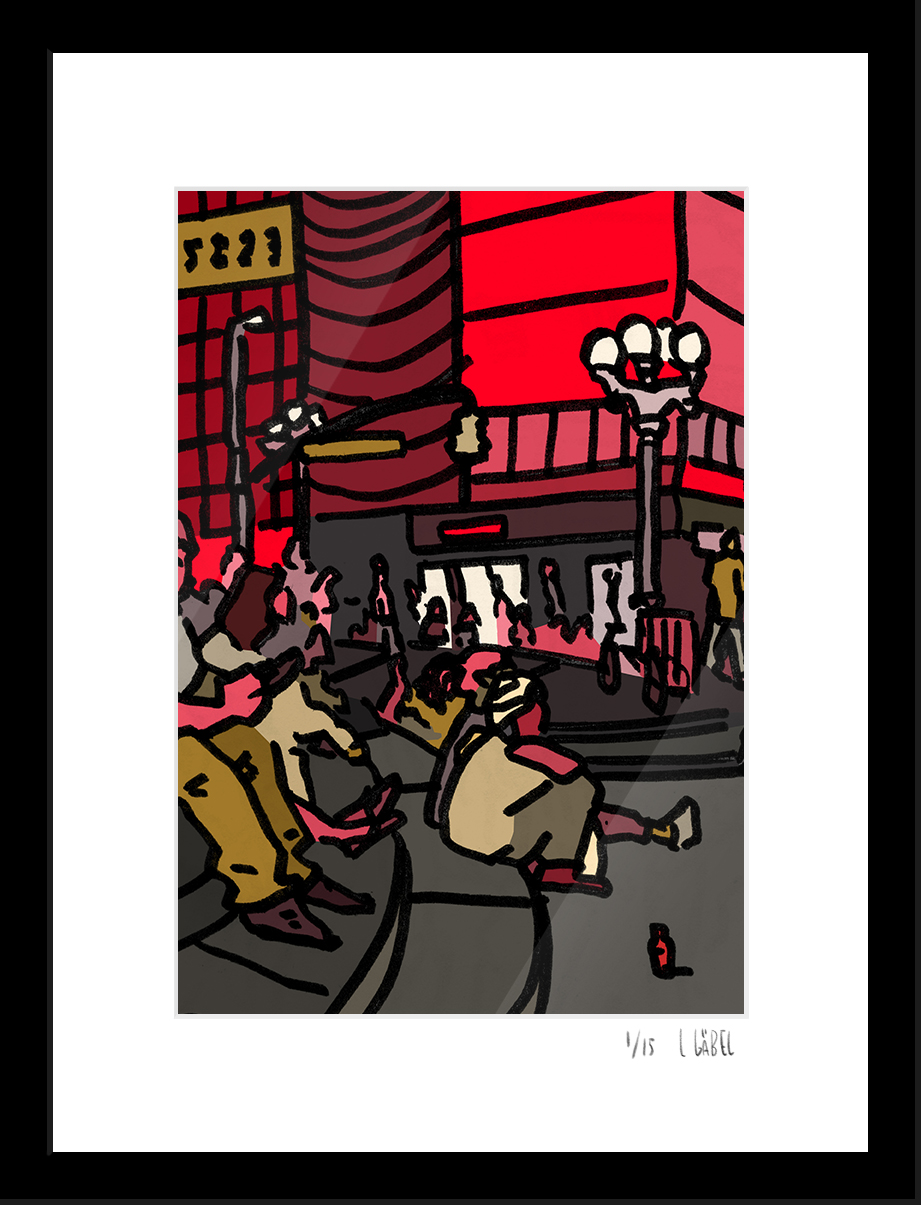 Union Square - limited to 15 prints only - €150