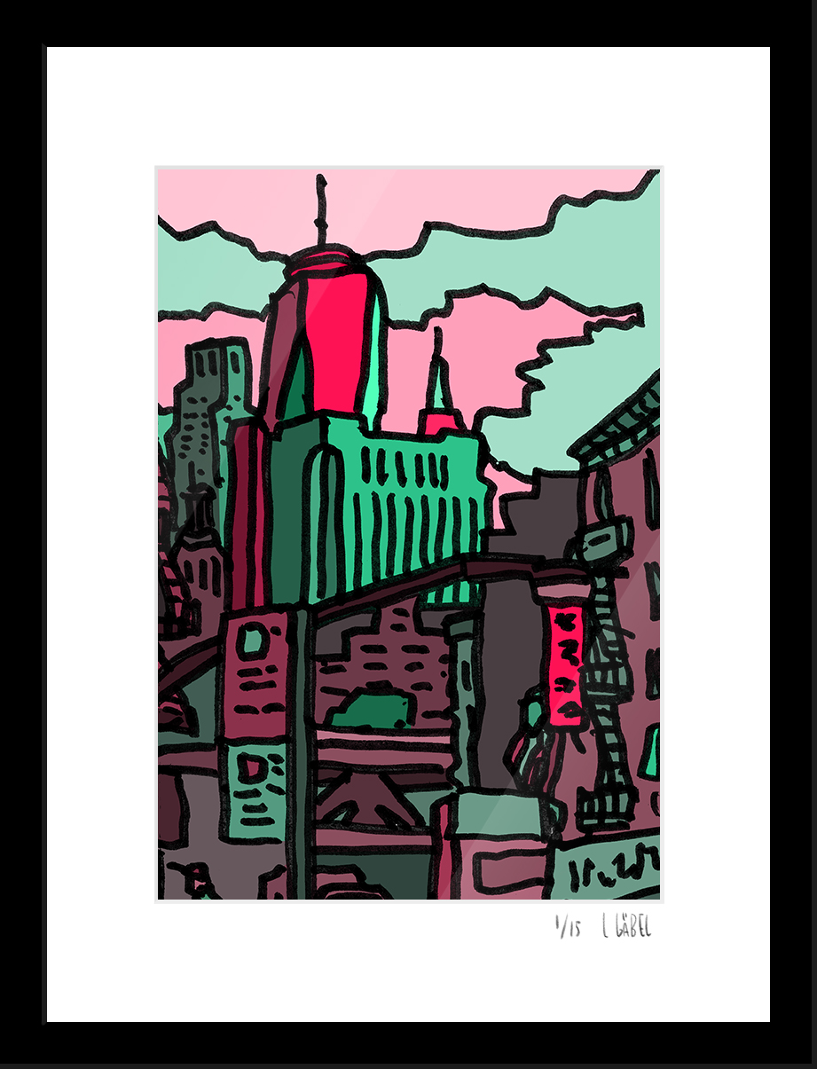 Chinatown View - limited to 15 prints only - €150