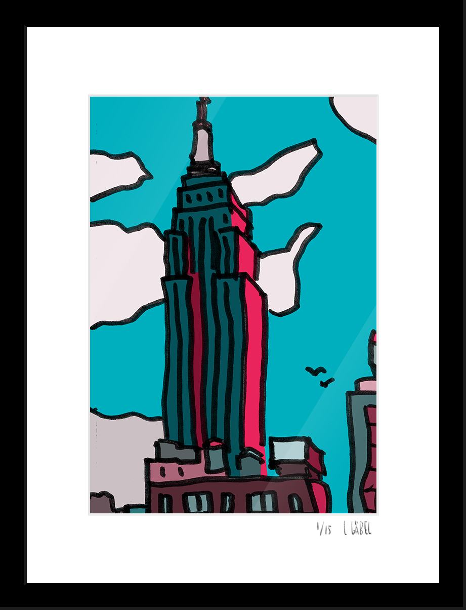 Empire State - limited to 15 prints only - €150