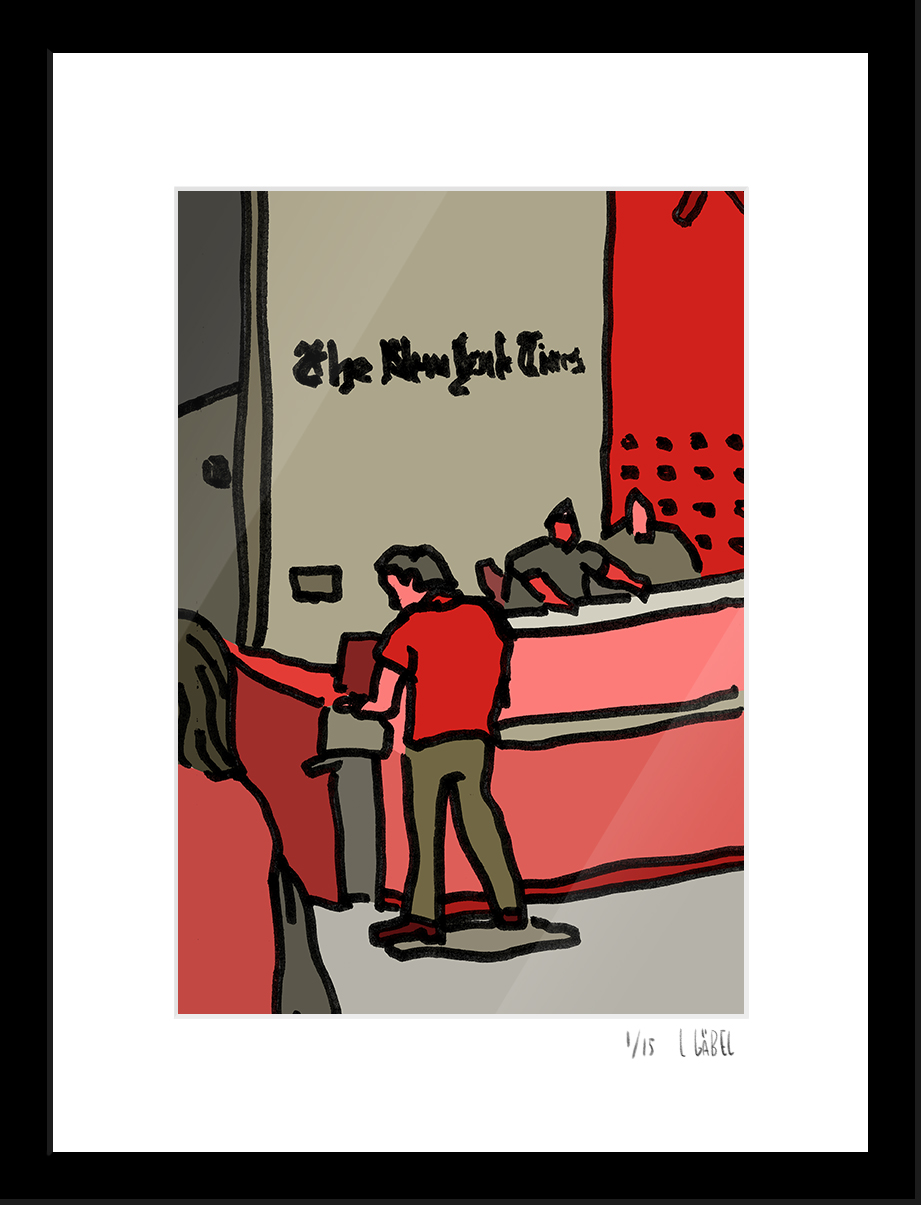 The New York Times - limited to 15 prints only - €450